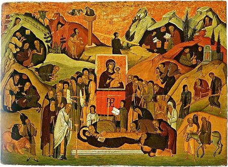 Adormirea Sfantului Efrem Sirul