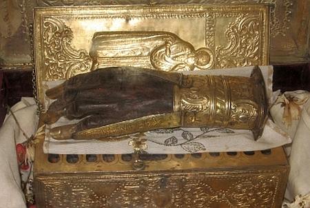 Sfantul Haralambie - Moastele Sfintitului Mucenic