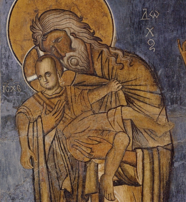 Hristos purtand cercel, o icoana unicat