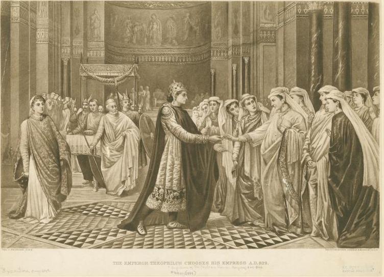 Sfanta Casiana, prima femeie imnograf