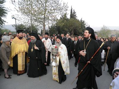 Moastele Sfantului Apostol Toma - Procesiune