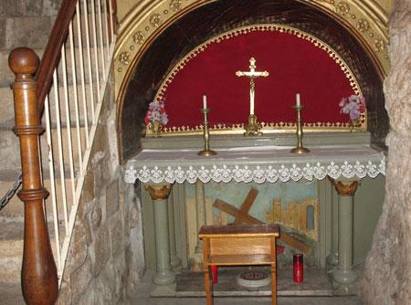 Drumul Crucii - Via Dolorosa - VII - A doua cadere a Mantuitorului la pamant