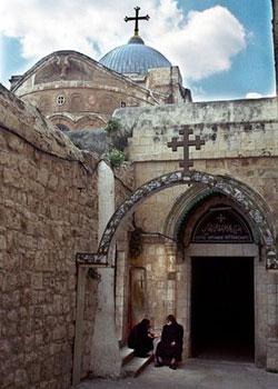 Drumul Crucii - Via Dolorosa - IX - A treia cadere la pamant a Mantuitorului