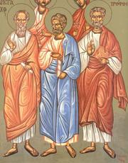 Sfintii Apostoli Aristarh, Pud si Trofim