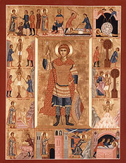 Sfantul Mucenic Gheorghe (Sambata lui Lazar - Pomenirea mortilor)