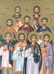 Sfintele Pasti; Sfantul Mucenic Gheorghe (slujba se savarseste astazi); Sfintii Noua Mucenici din Cizic
