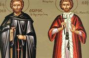 Sfantul Cuvios Teodor cel Sfintit; Sfintii Cuviosi Sila, Paisie si Natan de la Sihastria Putnei