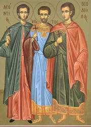 Sfintii Mucenici Leontie, Ipatie si Teodul (Sambata mortilor - Mosii de vara)