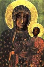 Icoana Maicii Domnului Neagra din Czestochowa
