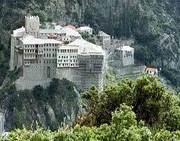 Manastirea Dionisiu - Sfantul Munte Athos