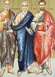 Sfintii Apostoli Sila, Silvan, Crescent, Epenetos si Andronic (Lasatul secului pentru Postul Adormirii Maicii Domnului)