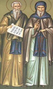 Sfintii Isachie, Dalmat si Faust