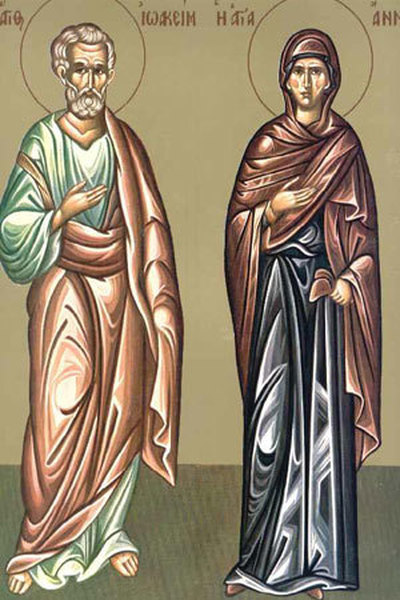 Sfinții Ioachim și Ana