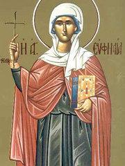 Sfanta Mucenita Eufimia