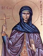 Sfanta Parascheva, Ocrotitoarea Iasului si a intregii Ortodoxii