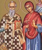Sfintii Mucenici Zenovie episcopul si Zenovia, sora sa
