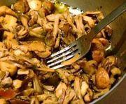 Mancare de ciuperci cu telina