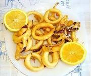 Reteta cu fructe de mare - Calamari prajiti