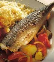 Peste la cuptor cu sos marinat