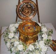 Sfantul Nectarie la parohia 'Sfantul Nicolae' din New York