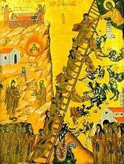 Scara Raiului, in iconografie