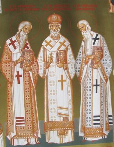 Sfintii Ierarhi Ilie Iorest, Sava Brancovici si Iosif Marturisitorul