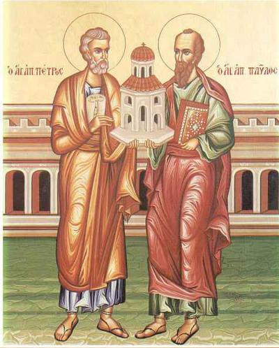 Sf. Apostoli Petru si Pavel 1252_sfintii_petru_si_pavel_w400