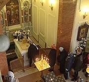 Mormantul Sfintei Xenia din Sankt Petersburg