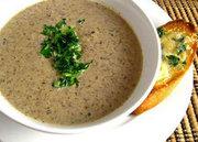 Supa crema de ciuperci cu nuca