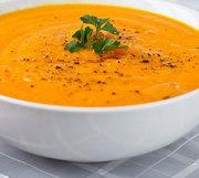 Supa-crema de rosii cu morcovi