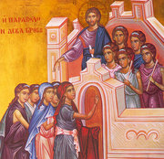Hristos, o usa care se deschide, dar se si inchide