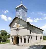 Biserica Sfanta Parascheva - Domnesti de Sus