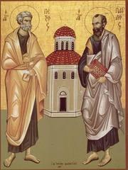 Sfintii Apostoli Petru si Pavel – adevaratii teologi si aparatori ai Bisericii lui Hristos