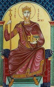 Sfantul Ethelbert, regele din Kent