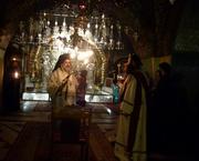 Slujba de noapte la Sfantul Mormant