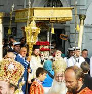 Procesiunea Sfantului Spiridon
