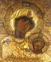 Icoana Maicii Domnului 'Portarita' de la Manastirea Iviron