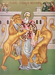 Numele lui Hristos era scris cu aur in inima iubitoare a lui Ignatie