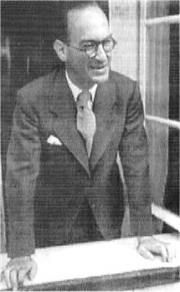 Profesorul George Manu - 'Rectorul Universitatii Aiud'