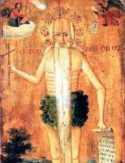 Sfantul Onufrie, vasul alegerii si doica sa, caprioara