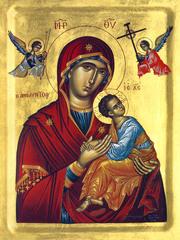 Sfanta Fecioara Maria - icoana a frumusetii intregii creatii