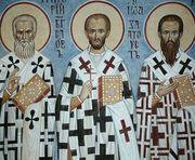 Sfintii Trei Ierarhi sunt cinstiti pe 30 ianuarie