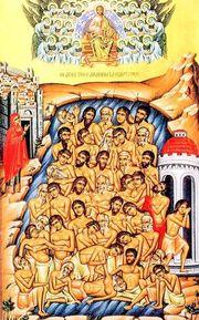 Sfintii 40 de Mucenici sunt praznuiti pe 9 martie