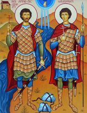 Sfintii Mucenici David si Constantin ai Georgiei