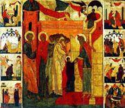 Intrarea in biserica a Maicii Domnului - 21 noiembrie