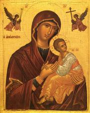 Pomenirii Maicii Domnului in anafora