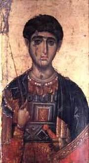 Sfantul Mare Mucenic Dimitrie Izvoratorul de Mir din Tesalonic