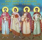 Acatistul Sfintilor Zotic, Atal, Camasie si Filip de la Niculitel