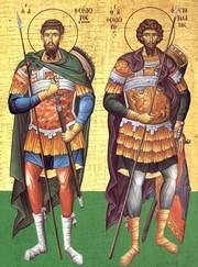 Acatistul Sfintilor Teodor Tiron si Teodor Stratilat