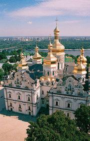 Lavra Pecerska din Kiev - cerul din adancuri